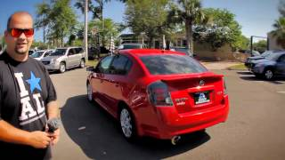 Autoline's 2008 Nissan Sentra SE-R Spec VWalk Around Review Test Drive