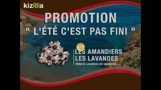 Promo L'été c'est pas fini Hôtel les Amandier Saint-Raphaël