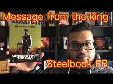 Message From The King Steelbook FR Présentation