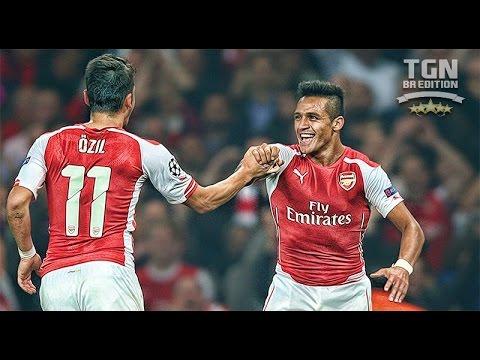 Alexis Sanchez & Mesut Özil ● Magic Duo ● Arsenal ● I HD I