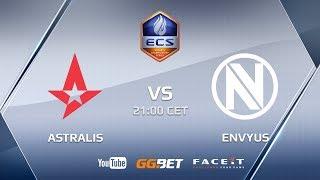 Astralis vs EnVyUs, ECS Europe Season 5