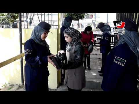 تشديدات أمنية بجامعة المنصورة في أول أيام الفصل الدراسي الثاني