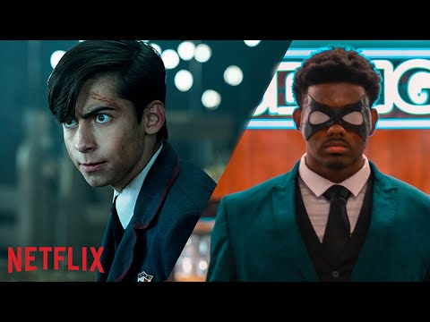 The Raincoat Academy Starring King Vader | The Umbrella Academy | Netflix Dreams