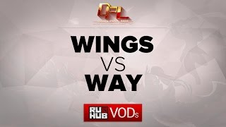 WAY vs Wings, game 1