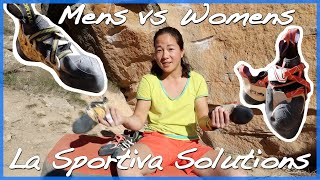 La Sportiva Solutions Mens vs Womens by The Climbing Nomads