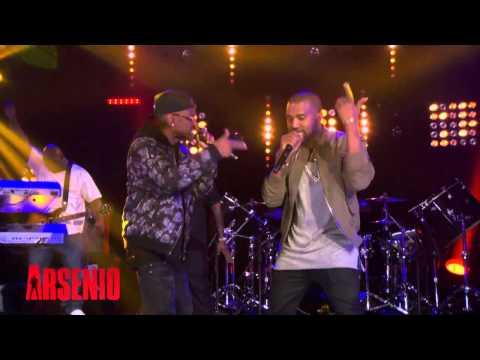 Rick Ross, Kanye West & Big Sean Perform 'Sanctified' Live On The Arsenio Hall Show¡