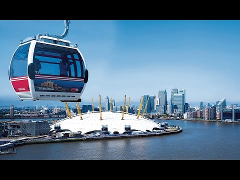 Doppelmayr 10-MGD Emirates Air-Line, London (2012)