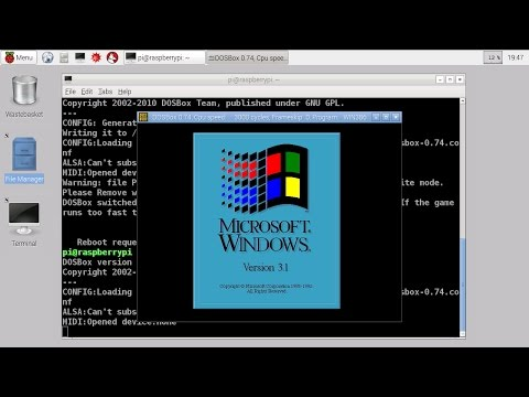 Raspberry Pi Windows 3.1