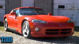 1993 Dodge Viper Review: The Most Dangerous Sports Car Ever Sold by That Dude in Blue