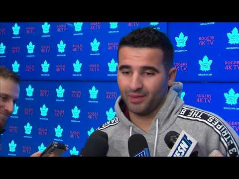 Video: Kadri: Marchand is annoying to play against, but I can definitely relate