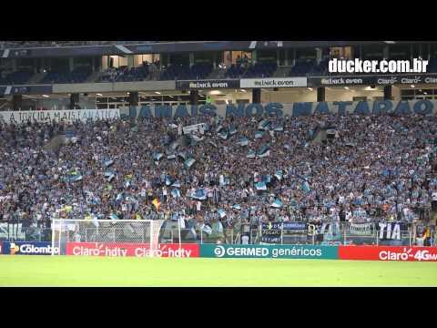 Grêmio x Novo Hamburgo - Gauchão 2015 - Essa noite/Tricolor de Porto Alegre - Geral do Grêmio - Grêmio