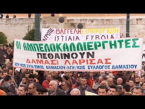 Νέο συλλαλητήριο των αγροτών στο Σύνταγμα