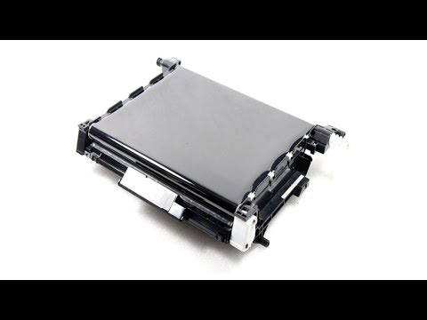 How to clean a Laser Printer Transfer Belt