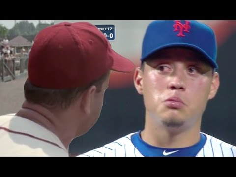 Wilmer Flores No Crying in Baseball