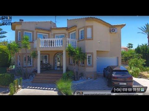 Купить дом у моря в Испании, на Коста Бланка с красивым садом (город Альбир, 5 минут от Бенидорма)