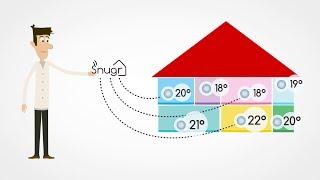 Apprenez-en plus sur la régulation du chauffage par zone, grâce à l'un de nos partenaires :  Snu