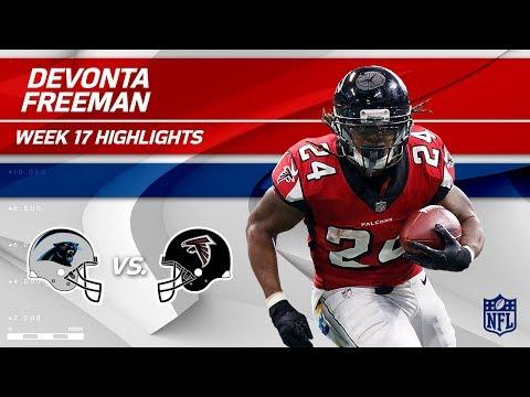 Video: Devonta Freeman Highlights | Panthers vs. Falcons | Wk 17 Player Highlights