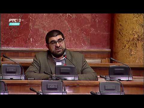 Narodni poslanik dr. Jahja Fehratović u Skupštini o promjenama u izbornom zakonu
