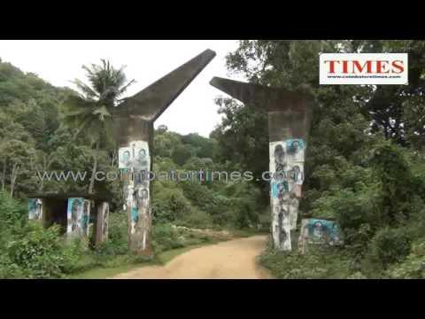 சிறுவாணி ஆற்றில் கேரள அரசால் கட்டப்பட்ட தடுப்பணை