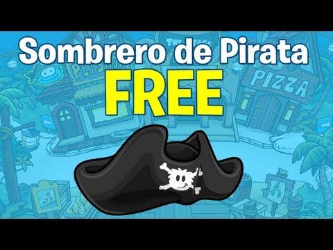 ¡Club Penguin: Código reutilizable del Sombrero Pirata!