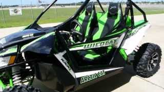 4. Overview and Review: 2013 Arctic Cat Wildcat X with 90+ HP in Team Arctic Cat Green