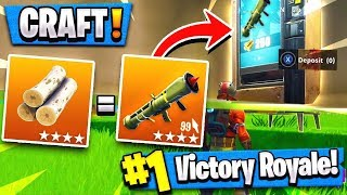 *NEW* VENDING MACHINE Confirmed!! ( Craft Legendary Weapons in Fortnite )