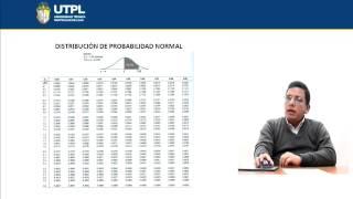 UTPL DISTRIBUCIÓN DE PROBABILIDAD NORMAL [(ÁREA ADMINISTRATIVA)(ESTADÍSTICA I)]