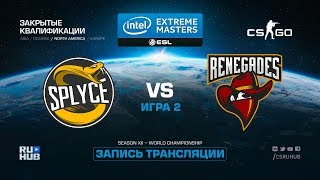 Splyce vs Renegades - IEM Katowice Qual NA - map2 - de_inferno [ceh9, GodMint]