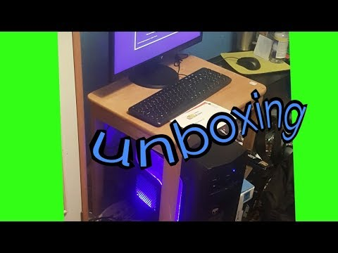 Unboxing my pc!