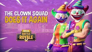 Download Video The Clown Squad Does It Again!! Fortnite Battle Royale Gameplay - Ninja MP3 3GP MP4