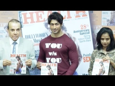 Vidyut Jamwal At A Launch Event Of Health Magazine