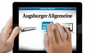 Augsburger Allgemeine YouTube-Video