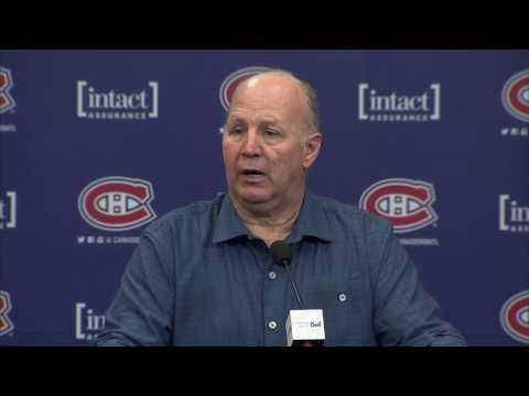 Video: Julien: My job is to make Galchenyuk better