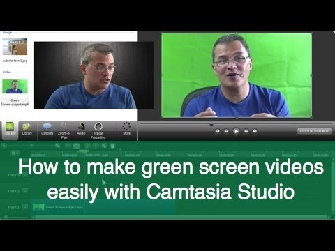 camtasia - http://www.melaclaro.com/camtasia-studio-udemy/ These are the quick-tip highlights from the full training Camtasia Studio green screen training video I poste...