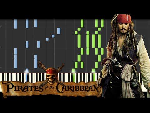 Pirates of the Caribbean Medley [Piano Tutorial] (Synthesia) // Kyle Landry + SHEETS/MIDI (видео)