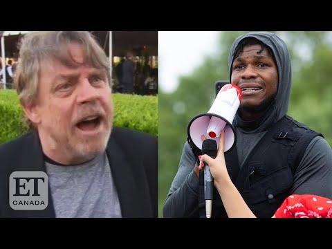 Celebs React To John Boyega's 'Black Lives Matter' Speech
