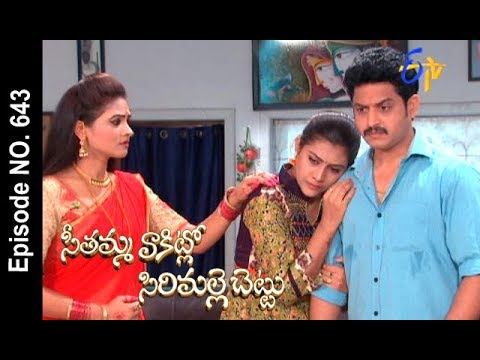 Seethamma Vakitlo Sirimalle Chettu | 25th September 2017| Full Episode No 643