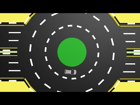 How to drive through Roundabouts?  UAE driving test