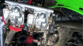 9. Kawasaki KFX700 Carburetor Cleaning