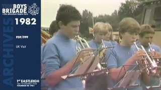 Eastleigh United Kingdom  city pictures gallery : 1982: 1st Eastleigh Boys' Brigade - FDF/FPF UK Visit