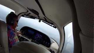 N963CD Cirrus SR22 Landing IFR Montgomery KMGM