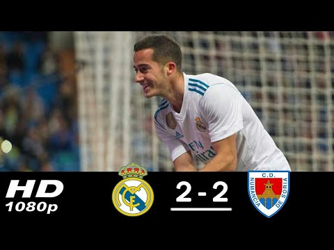 Real Madrid vs Numancia 2-2 - All Goals & Extended Highlights - La Copa 10/01/2017 HD