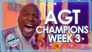 America's Got Talent: The Champions Auditions | WEEK 3 | Top Talent