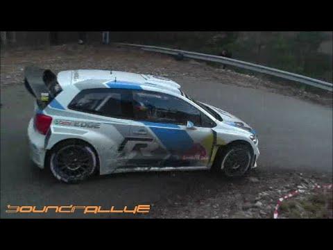 Test Day-Monté-Carlo 2015-Sébastien Ogier Polo WRC (HD)