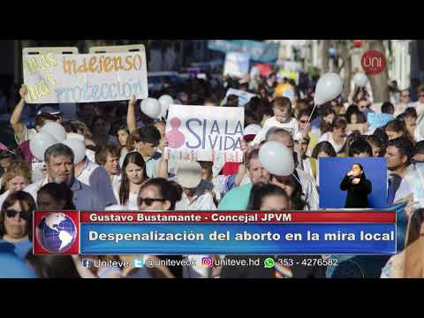 Concejales opinan sobre el aborto: Gustavo Bustamante