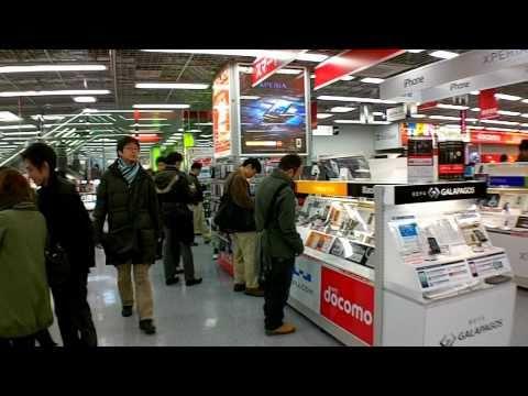 ヤマダ電機 Labi Electronics Store POV / Tokyo  Japan (Shinjuku)