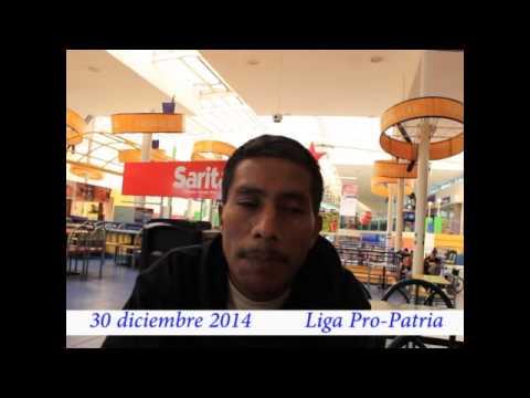 """Video. """"Entrevista a víctima de San Pablo"""" (30 dic 2014)"""