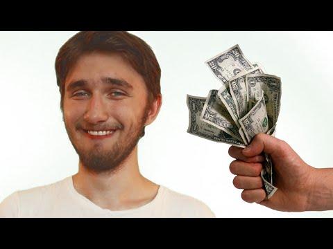 TheUselessMouth(юзя, рич) получает мой подарок - 175 рублей
