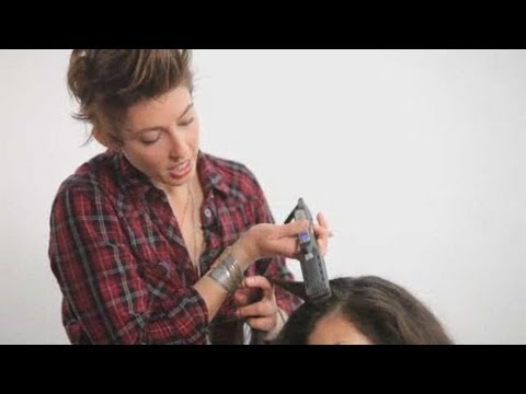 How to Straighten Hair with a Flat Iron | Cute Hairstyles
