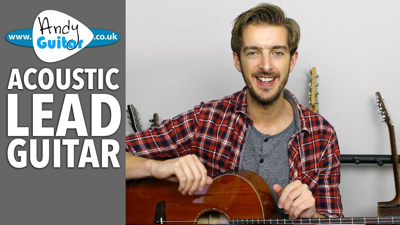 Acoustic Lead Guitar Lessons – Introduction [New FREE Course!]